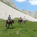 randonnées à cheval à la carte