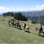 rando cheval montagne