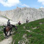 hautes alpes à cheval
